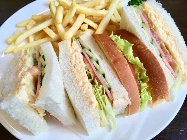 さくら珈琲 サンドイッチ