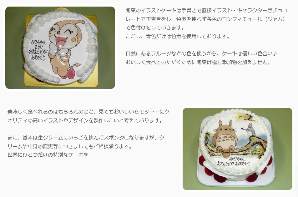 岐阜キャラクターケーキまとめ