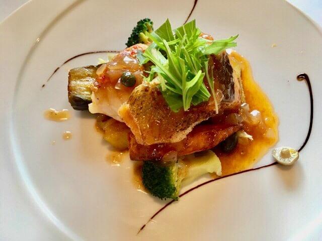 ルボントンの魚メニュー