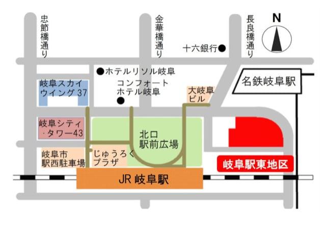 岐阜駅 イーストライジング24